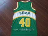 Maillot Seattle Supersonics No.40 Shawn Kemp Vert