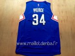 Maillot L.A.Clippers No.34 Paul Pierce Bleu
