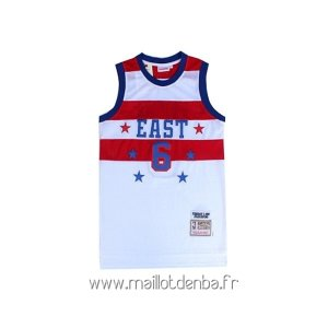 Maillot 1980 All Star No.23 Julius Winfield Erving Blanc