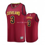 Maillot Enfants Cleveland Cavaliers NO.3 Marquese Chriss Rouge Icon
