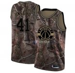Maillot Washington Wizards NO.41 Wes Unseld Camo NBA Swingman Collection Realtree 2018