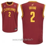 Maillot Cleveland Cavaliers No.2 Kyrie Irving Rouge