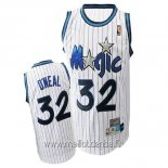 Maillot Orlando Magic No.32 Shaquille O'Neal Blanc