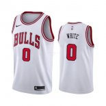 Maillot Chicago Bulls Nike NO.0 Coby White Blanc Association 2019-20