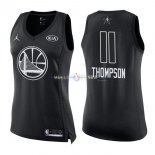 Maillot Femme 2018 All Star NO.11 Klay Thompson Noir
