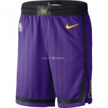 Pantalon Los Angeles Lakers Nike Pourpre Ville 2018/2019