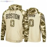 Hoodies Boston Celtics NO.0 Jayson Tatum Camuflaje