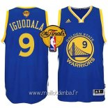 Maillot Golden State Warriors Finales No.9 Iguodala Bleu