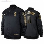 Veste De Houston Rockets NO.0 Russell Westbrook Noir