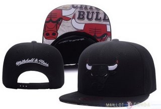 Snapbacks Caps 2017 Chicago Bulls Noir NO.01
