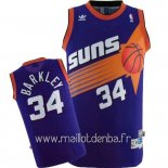 Maillot Phoenix Suns No.334 Charles Barkley Pourpre