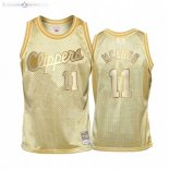 Maillot Enfants Los Angeles Clippers NO.11 Bob Mcadoo Or Hardwood Classics