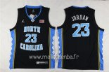 Maillot NCAA Enfants North Carolina No.23 Michael Jordan Noir