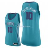 Maillot Femme Charlotte Hornets NO.10 Michael Carter Williams Vert Icon 2018