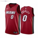 Maillot Miami Heat Nike NO.0 Meyers Leonard Equality Rouge Statement 2019-20