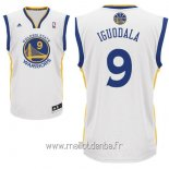 Maillot Golden State Warriors No.9 Andre Iguodala Blanc