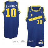 Maillot Golden State Warriors No.10 Anfernee Hardaway Retro Bleu
