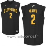 Maillot Cleveland Cavaliers No.2 Kyrie Irving Noir