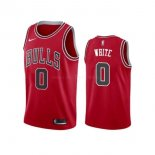 Maillot Chicago Bulls Nike NO.0 Coby White Rouge Icon 2019-20