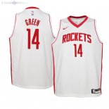 Maillot Enfants Houston Rockets NO.14 Gerald Green Blanc Association 2019/2020