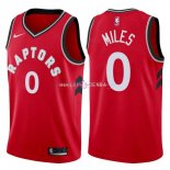 Maillot Toronto Raptors Nike NO.0 CJ Miles Rouge Icon