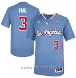 Maillot L.A.Clippers Manche Courte No.3 Chris Paul Bleu