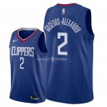 Maillot Los Angeles Clippers Nike NO.2 Shai Gilgeous Alexander Bleu Icon 2018