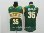 Maillot Seattle Supersonics No.35 Kevin Durant Vert