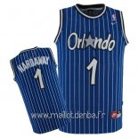 Maillot Orlando Magic No.1 Anfernee Hardaway Bleu