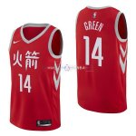 Maillot Houston Rockets Nike NO.14 Gerald Green Nike Rouge Ville