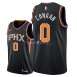 Maillot Phoenix Suns Nike NO.0 Isaiah Canaan Noir Statement 2018