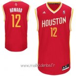 Maillot Houston Rockets No.12 Dwight Howard Retro Rouge