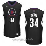 Maillot L.A.Clippers No.34 Paul Pierce Noir