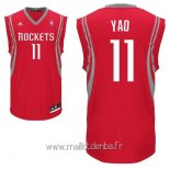 Maillot Houston Rockets No.11 Yao Ming Rouge