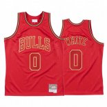 Maillot NBA CNY Throwback Chicago Bulls NO.0 Coby White Rouge 2020