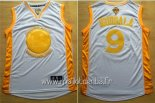 Maillot Golden State Warriors No.9 Andre Iguodala Or