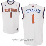 Maillot New York Knicks No.1 Amar'e Stoudemire Blanc
