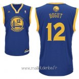 Maillot Golden State Warriors No.12 Andrew Bogut Bleu