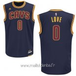 Maillot Cleveland Cavaliers No.0 Kevin Love Bleu
