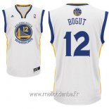 Maillot Golden State Warriors No.12 Andrew Bogut Blanc