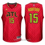 Maillot Atlanta Hawks No.15 Al Horford Rouge