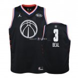 Maillot Enfants 2019 All Star NO.3 Bradley Beal Noir
