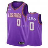 Maillot Phoenix Suns Nike NO.0 Isaiah Canaan Nike Pourpre Ville 2018/2019