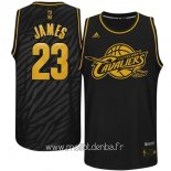 Maillot L.A.Clippers Metales Mode Précieux No.23 James Noir
