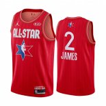 Maillot 2020 All Star NO.2 Lebron James Rouge