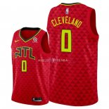 Maillot Atlanta Hawks Nike NO.0 Antonius Cleveland Rouge Statement 2018
