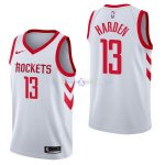 Maillot Houston Rockets Nike NO.13 James Harden Blanc Association