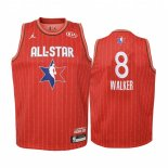 Maillot Enfant 2020 All Star NO.8 Kemba Walker Rouge