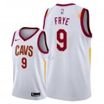 Maillot Cleveland Cavaliers Nike NO.9 Channing Frye Blanc Association 2018