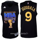 Maillot Golden State Warriors Finales No.9 Iguodala Noir
